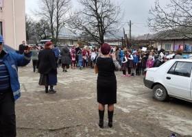 Exerciţiu de alarmare publică în caz de cutremur la comuna Borleşti