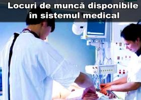 Locuri de muncă disponibile în spitalele din România – 25 august 2016