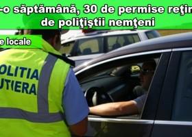 IPJ Neamț: Sute de conducători auto au fost sancționați pentru depășirea limitei de viteză