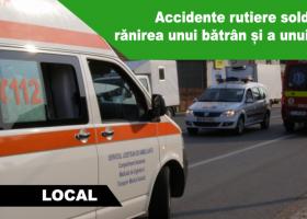 Accidente rutiere soldate cu doi răniți, în județul Neamț