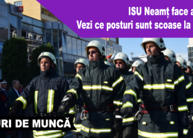 ISU Neamț scoate la concurs 16 posturi