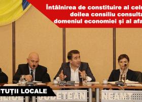 Înființarea Consiliului Consultativ în domeniul economiei și al afacerilor