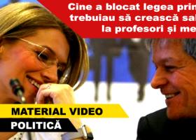 Guvernul Cioloș și PNL au blocat intenționat legea creșterii salariilor