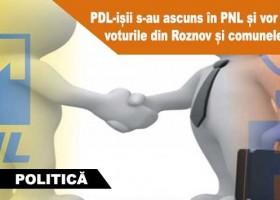 PDL-ișii s-au ascuns în PNL și vor din nou voturile din Roznov și comunele din jur