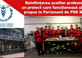 Reînființarea școlilor profesionale, un proiect național plecat de la PSD Neamț