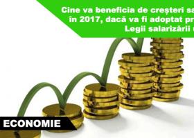 Ce categorii de angajați vor beneficia de creșteri salariale conform noului proiect al legii salarizării unitare