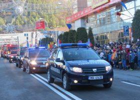 De Ziua Națională a României, jandarmii nemțeni asigură ordinea publică în județ