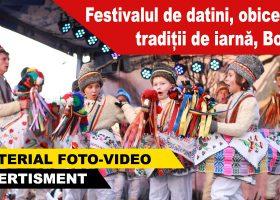 Festivalul de datini, obiceiuri și tradiții de iarnă Borlești