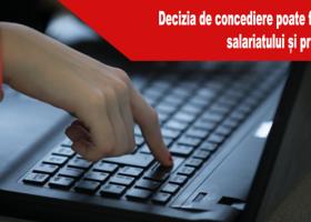 Decizia de concediere poate fi trimisă prin e-mail