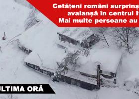 MAE: Cel puțin trei români surprinși de o avalanșă într-o stațiune din Italia