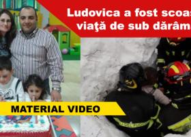 Ludovica, fetiţa femeii originare din România, a fost găsită în viaţă