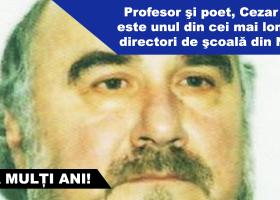 La mulţi ani, prof. Cezar Ţucu!